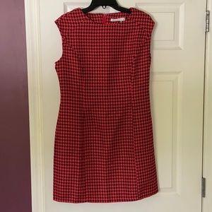 Lucy Paris Houndstooth Sheath Dress